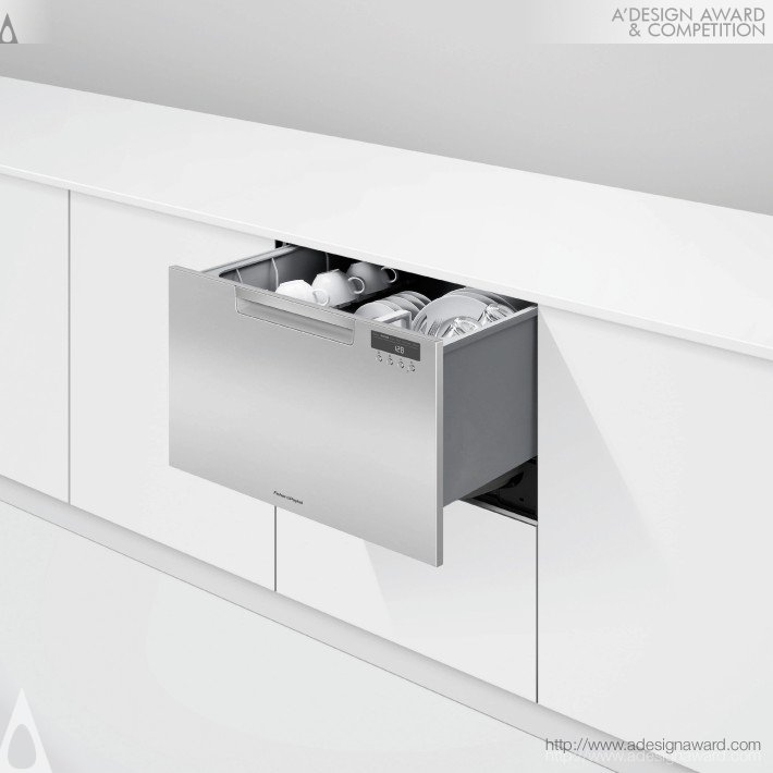 Dishdrawer™ (Drawer Dishwasher Design)