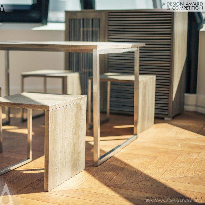 Createspace (Multifunctional Sideboard Design)