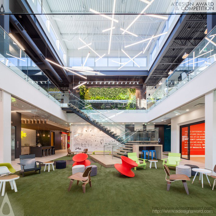 Whimsical Workplace (Corporate Interior Design)