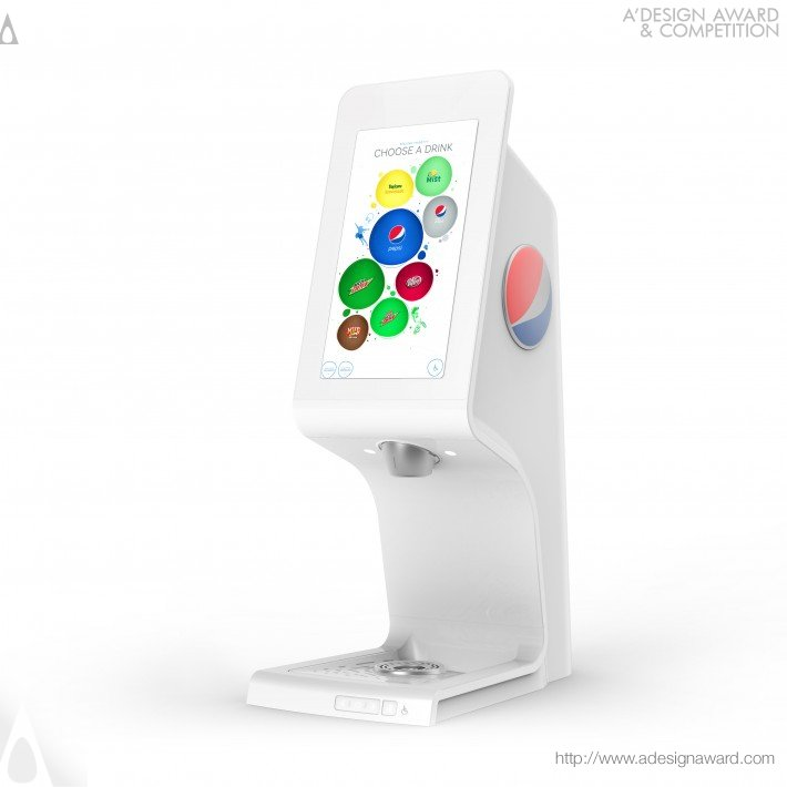 Pepsi Touch Tower 2.0 (Interactive Beverage Dispenser Design)