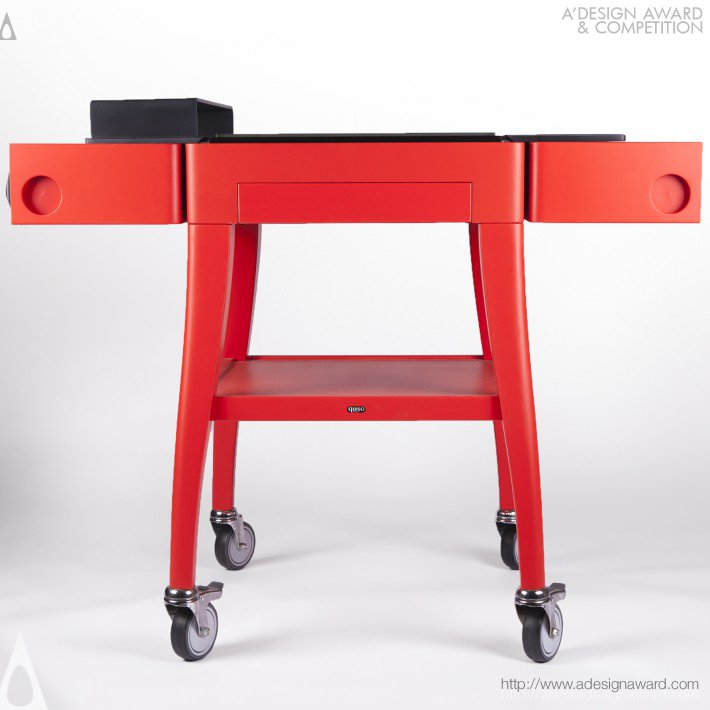 Keza (Chilled Cheese Trolley Design)