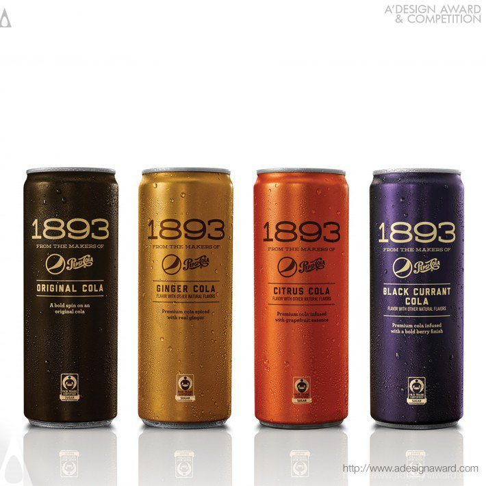 1893 From The Makers of Pepsi-Cola Can Design by PepsiCo Design & Innovation