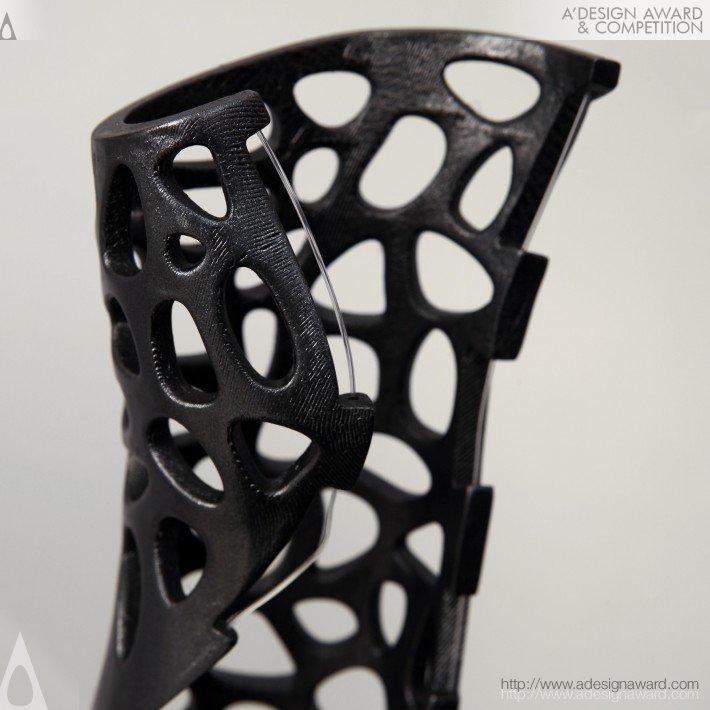 Osteoid (Medical Cast, Attachable Bone Stimulator Design)