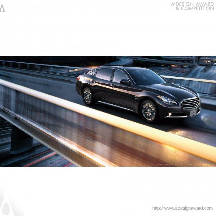 Nissan Cima (Brochure Design)