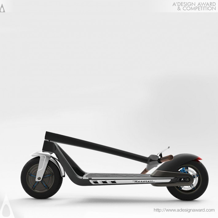 E-Scooter (Electric Vehicle Design)