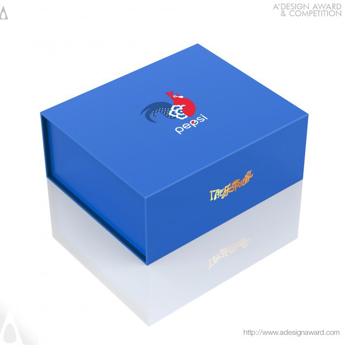 Pepsi Year of The Rooster Ltd Ed Can by PepsiCo Design & Innovation