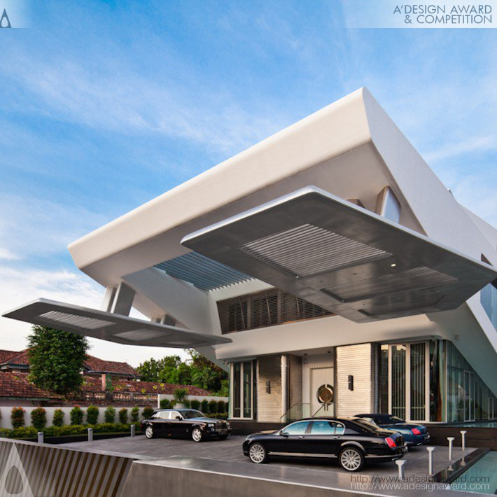 Lambda Residential Villa by Mercurio Design Lab