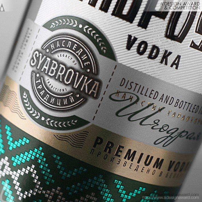 Syabrovka (Belarusian Vodka Design)