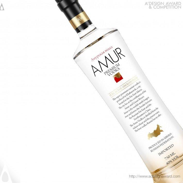 Amur Vodka (Vodka Bottle Design)