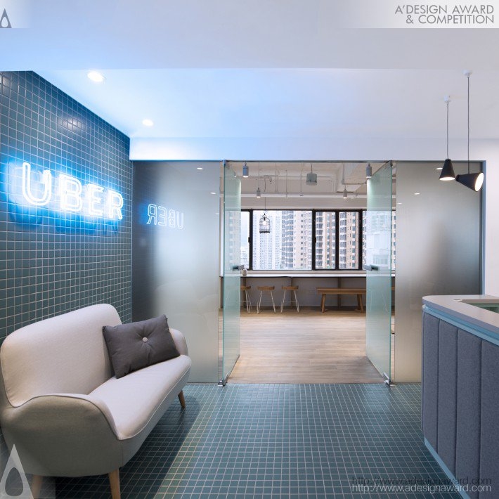 Uber Hk Workplace Office by Bean Buro