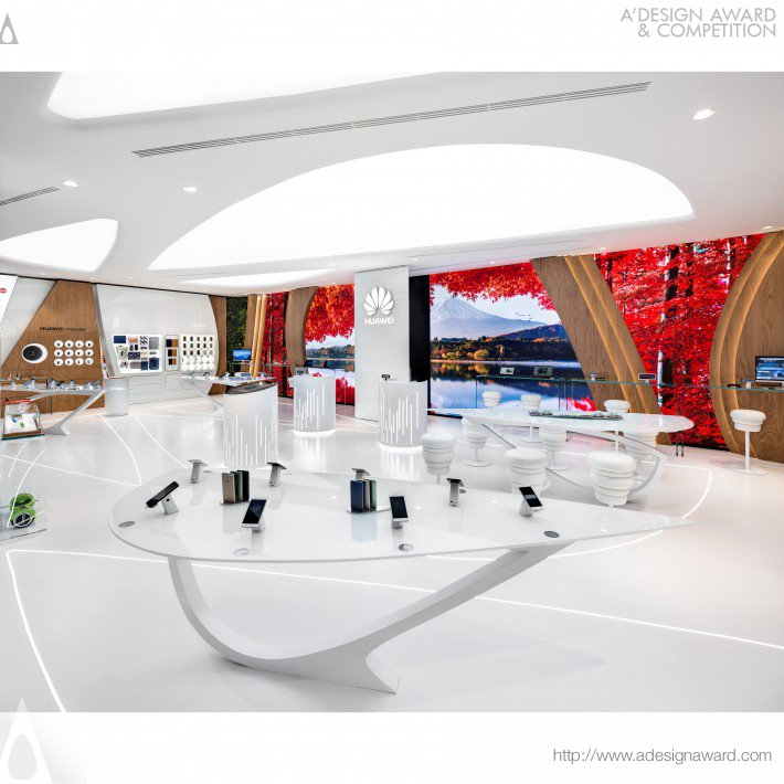 Huawei Technologies Experience Store by Alessandro Luciani