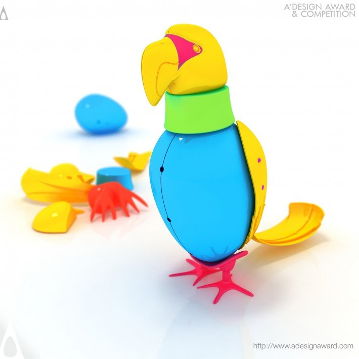 Birds & Eggs (Toy Kit Design)