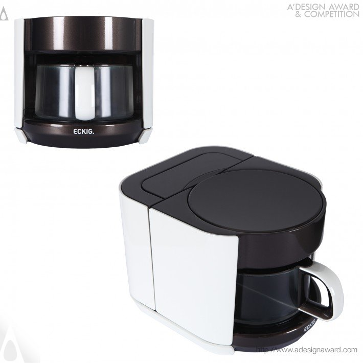 Eckig Breakfast Set (Kettle, Coffee and Tea MacHine, Toaster Design)