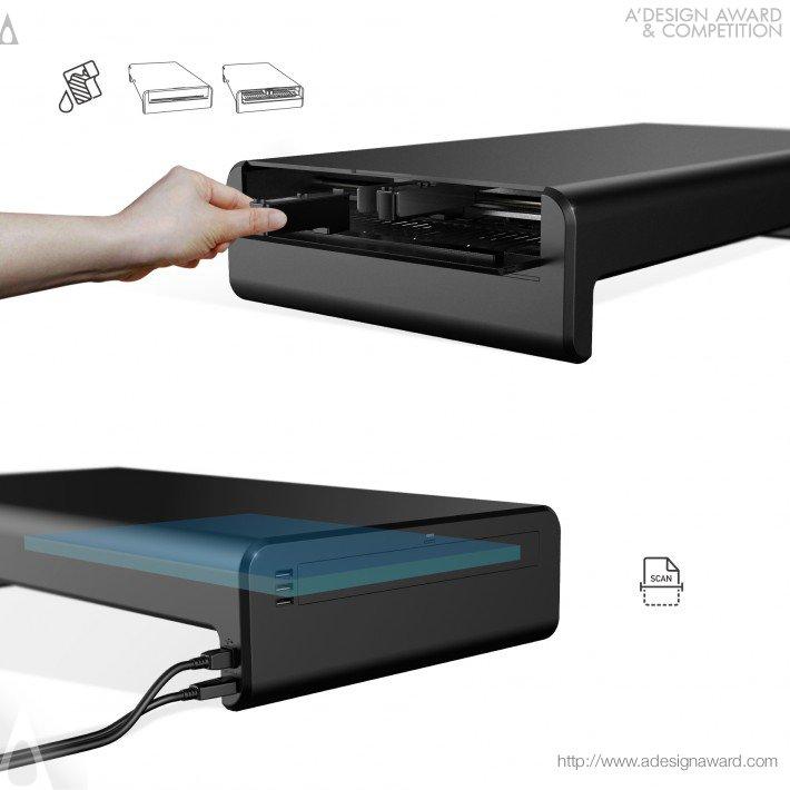 Stand Printer (Personal Printer Design)