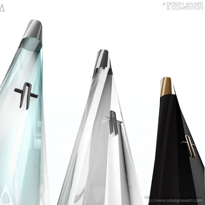 Elia Pittavino - Arcadia Italian Vodka (concept Bottle) Vodka Bottle