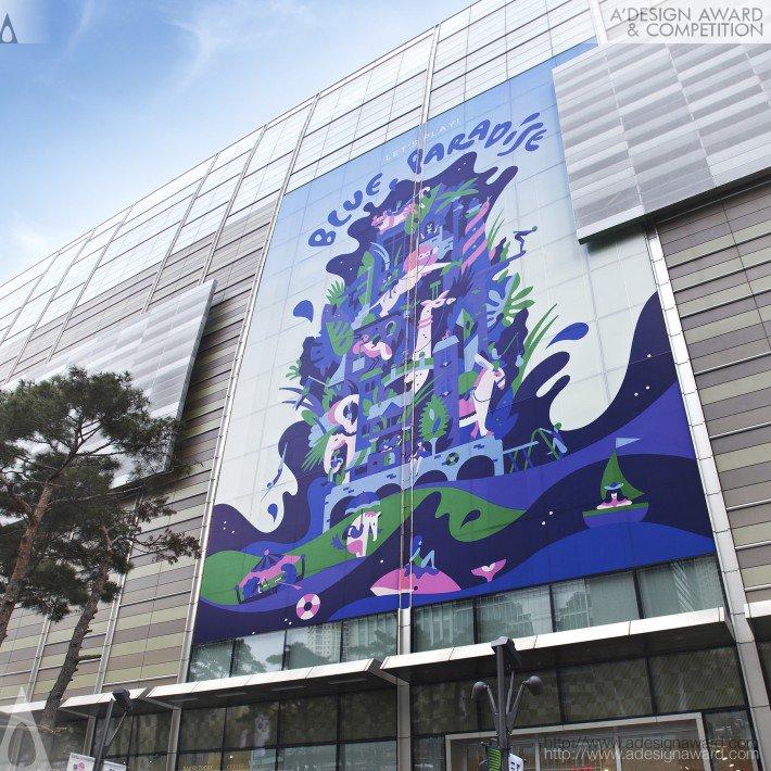 Blue Paradise (Retail Vm Design)