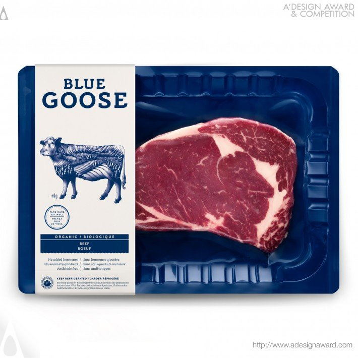 Blue Goose (Product Packaging Design)