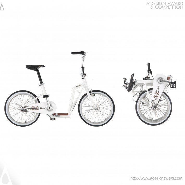 Slider Folding Bike (Bicycle Design)