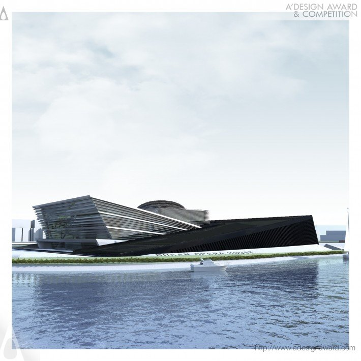 Busan Opera House by officetwentyfive architects