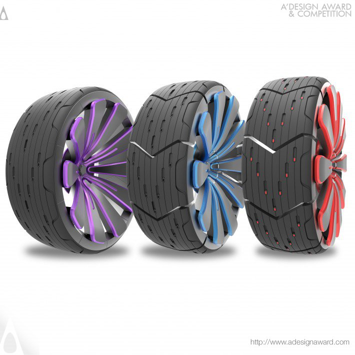 All Road Transform Concept (Tire Design)