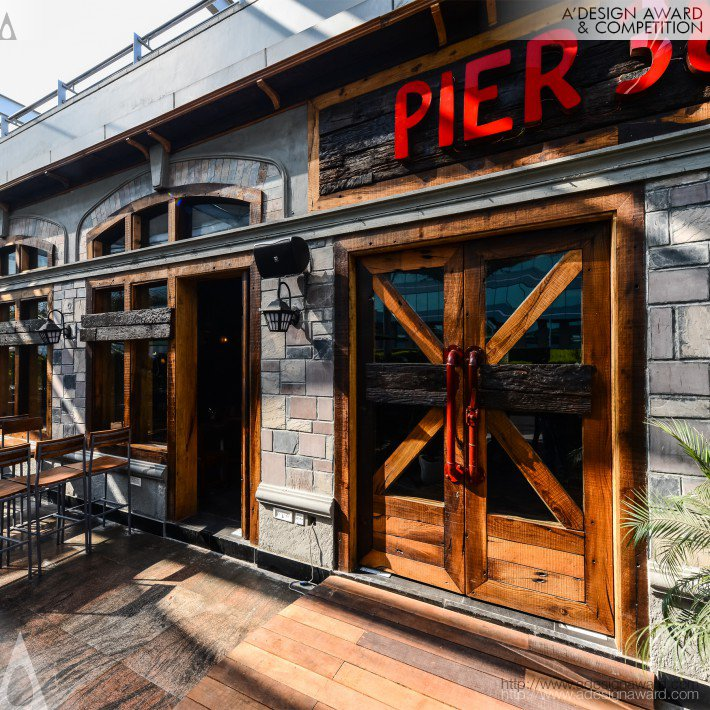 Pier 38 (Restaurant and Bar Design)