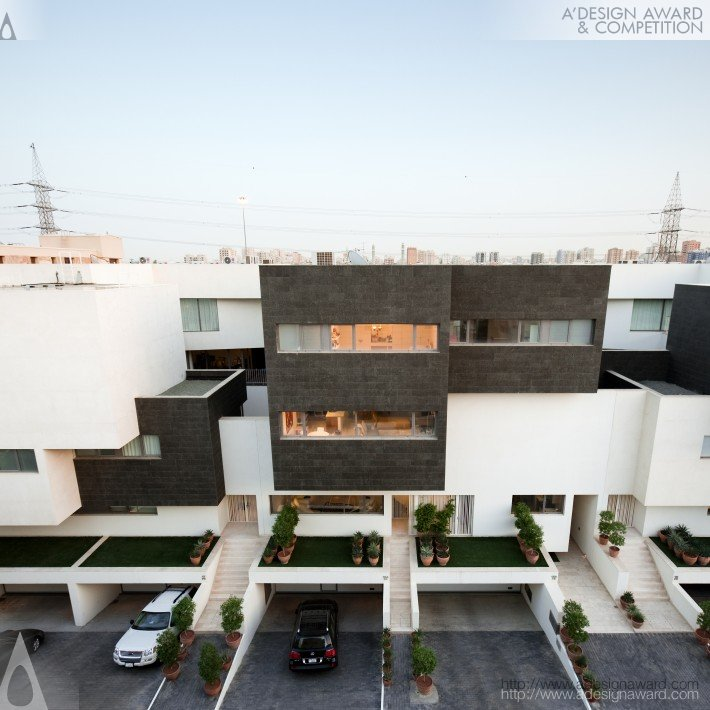 Black and White House (Residential House Design)