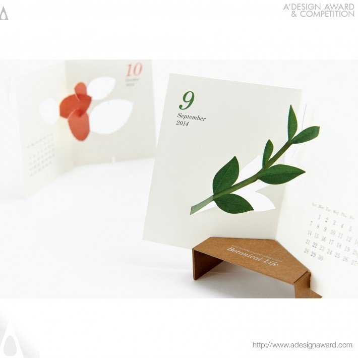 "Calendar Design Competition : A design award and competition calendar ""botanical"