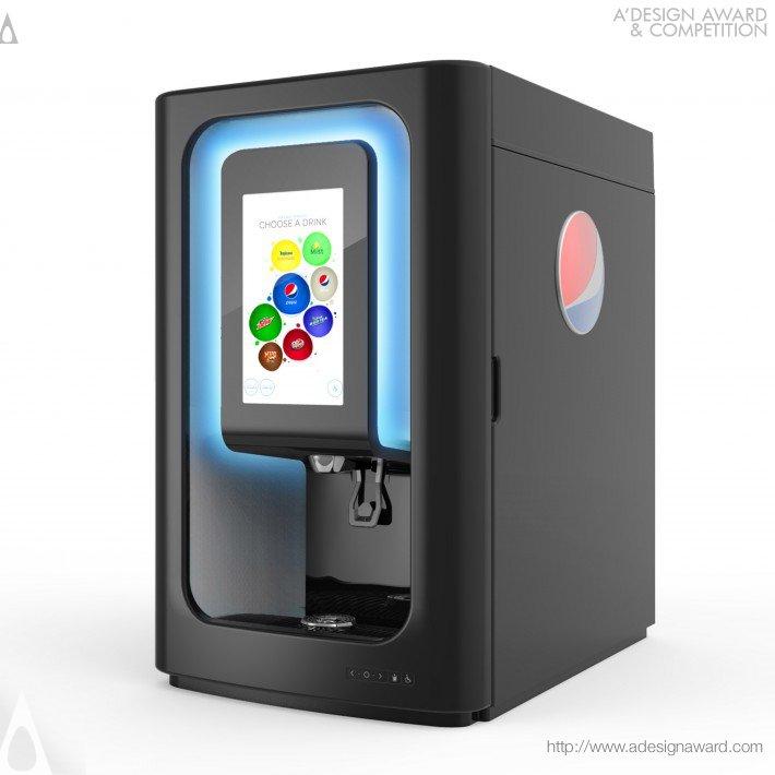 Pepsi Spire 3.0 (Beverage Dispenser Design)