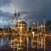 Frigate Wallfisch and Lielais Square