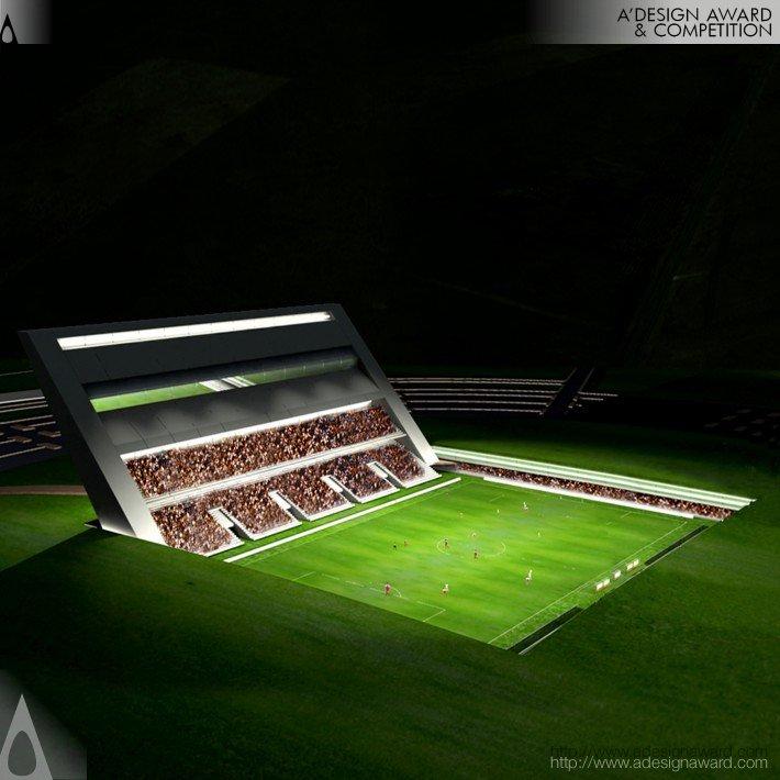 The Wall Stadium (Football Stadium Design)