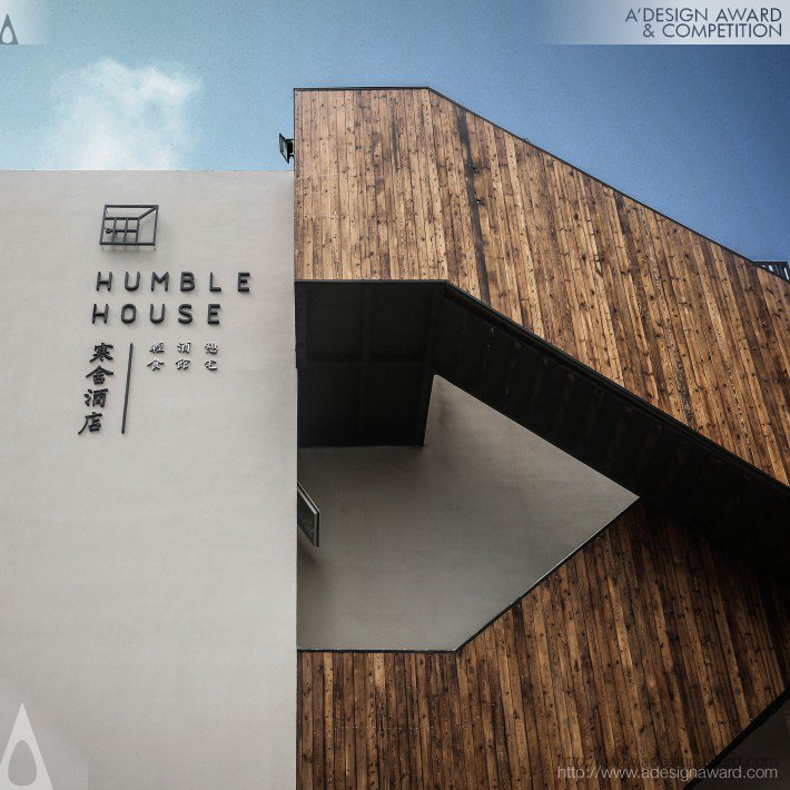 Humble House Hotel by Wangtao