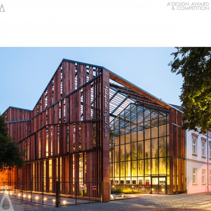 Malopolska Garden of Arts (Performing Arts Centre & Mediatheque Design)