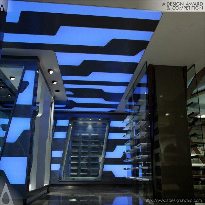 Chameleon (Showroom, Retail Design)