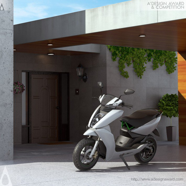 Ather S340 (Smart Electric Scooter Design)