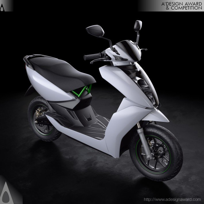 Ather S340 Smart Electric Scooter by Shantanu Jog
