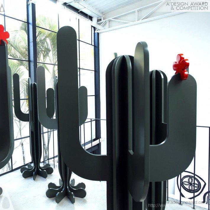 Cacto (Clothes Rack Design)