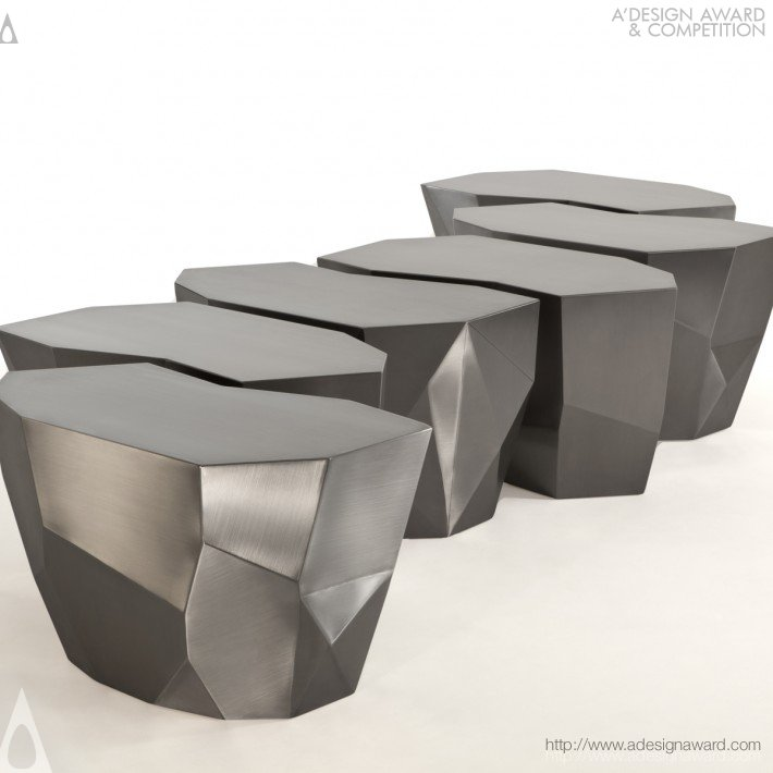 Infinite Steel Stool (Stool Design)