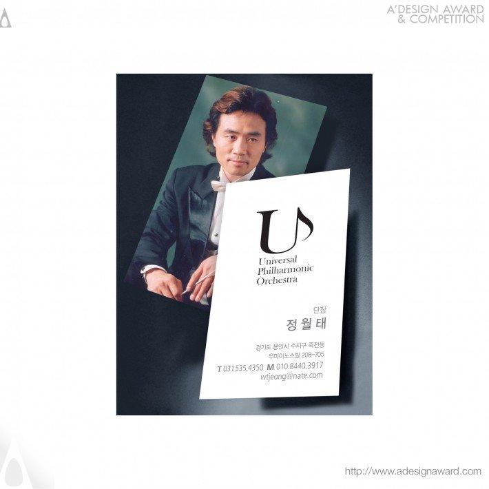 Universal Philharmonic Orchestra (Corporate Identity Design)