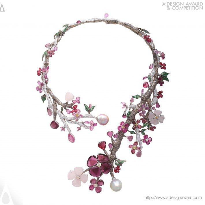 Sakura (Necklace Design)