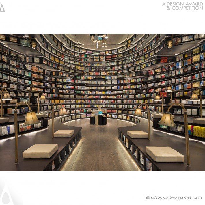 Hangzhou Zhongshuge (Bookstore Design)