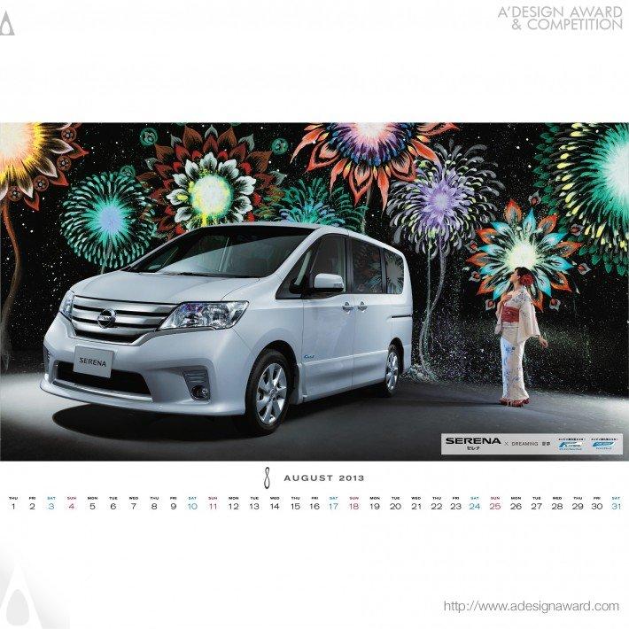 Nissan Calendar 2013 (Calendar Design)