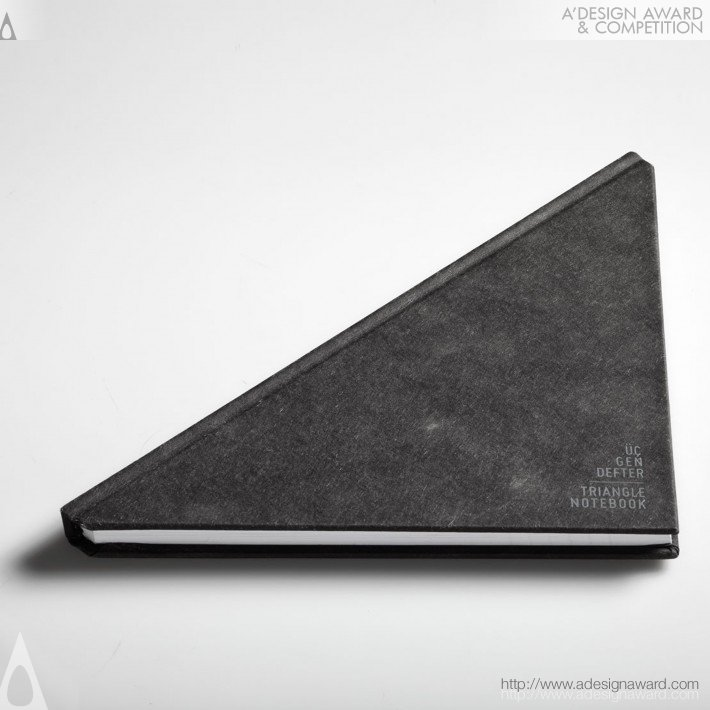 Tan Mavitan - Triangle Notebook Notebook
