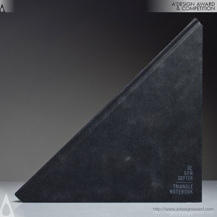 Triangle Notebook Notebook by Tan Mavitan