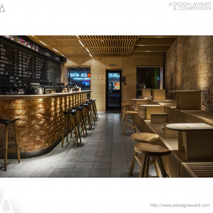 Parka Craft Beer Bar by ARCHPOINT