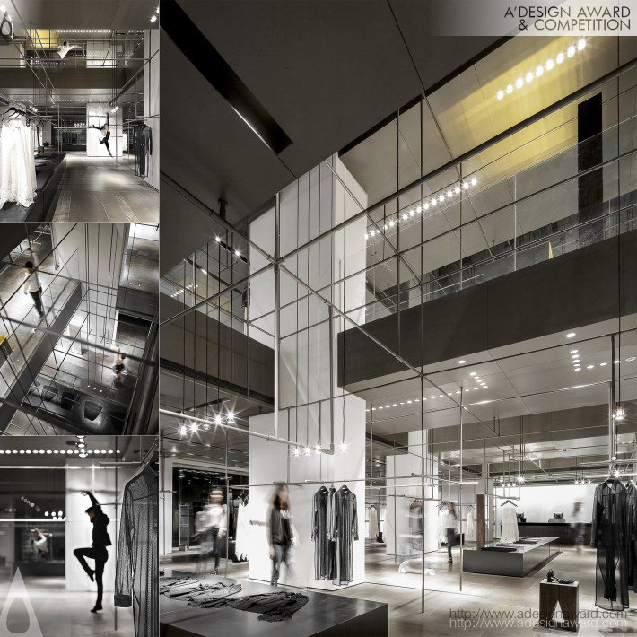 Urben Revivo Shop by Ann Yu (Clothing Concept Store Design)
