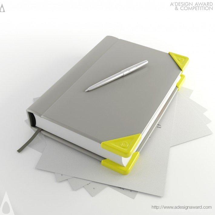 Corneround (Book Edge Protector Design)