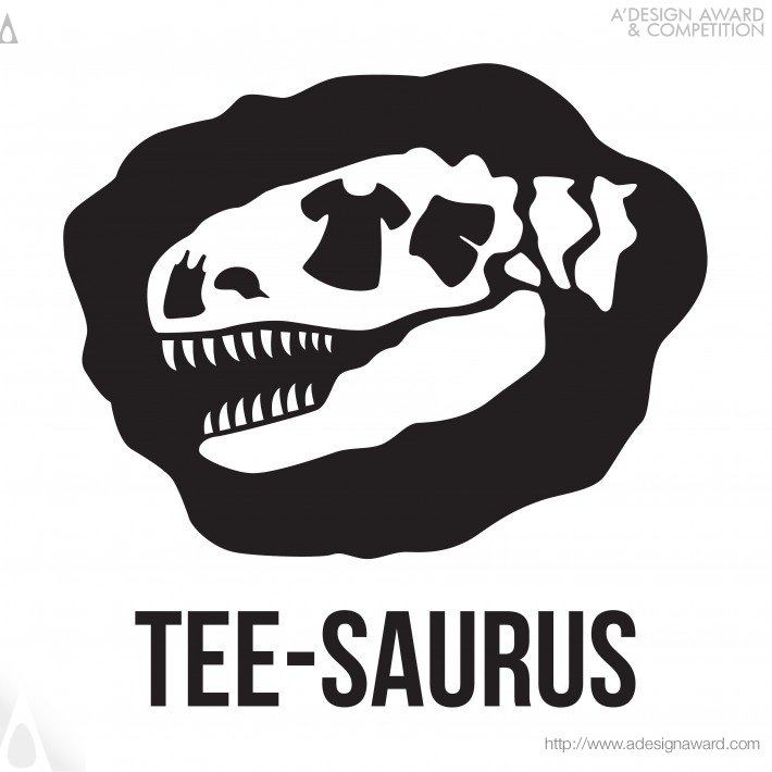 Tee-Saurus (Logo Design, Graphic Tees Design)