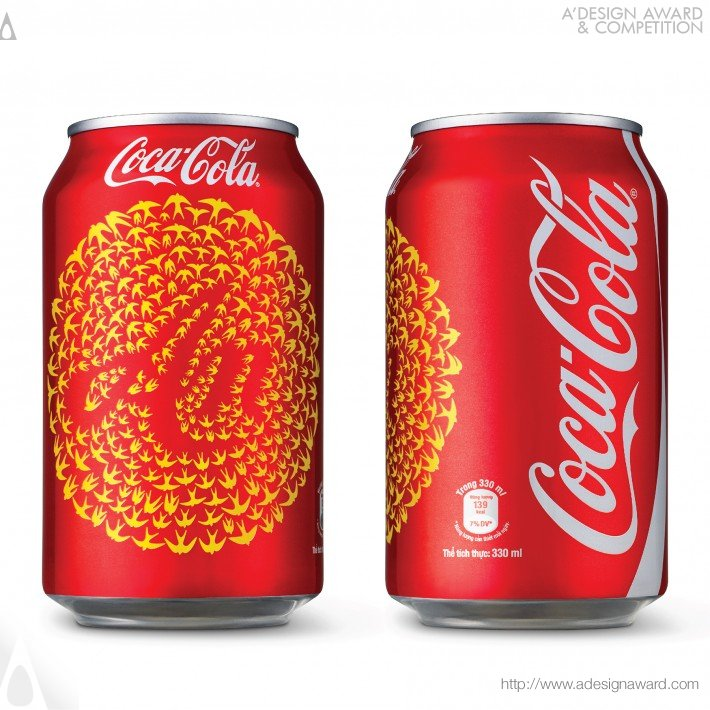 Coca-Cola Tet 2014 (Soft Drink Packaging Design)