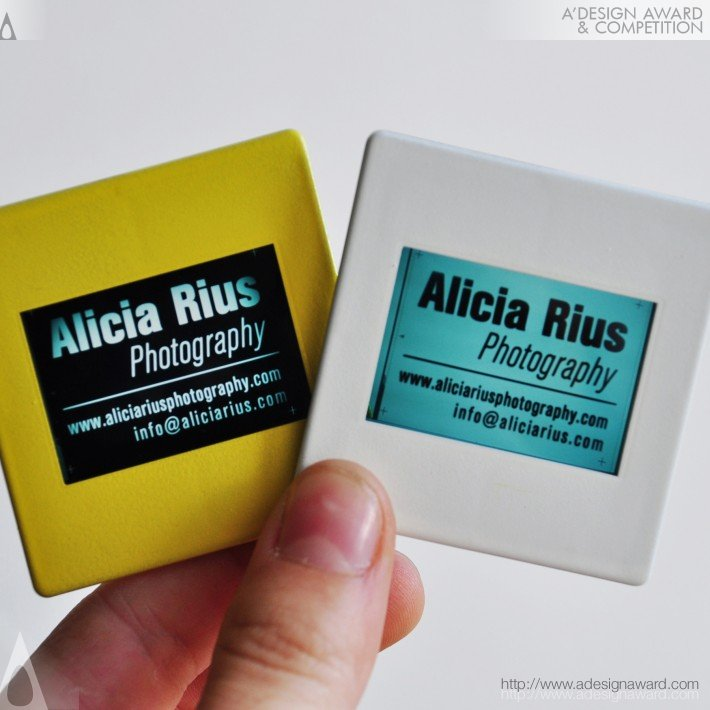 Alicia Rius Photography (Business Card Design)