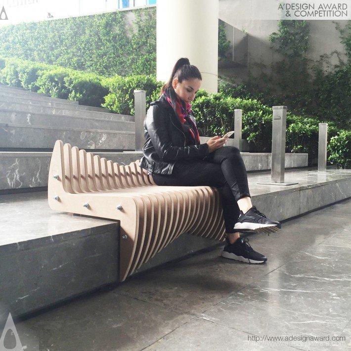 Waves (Stair Seating Design)